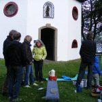 Picknick nach dem Open Air Gottesdienst des Franziskuskreises 2014 an der Elsper Vitus Kapelle