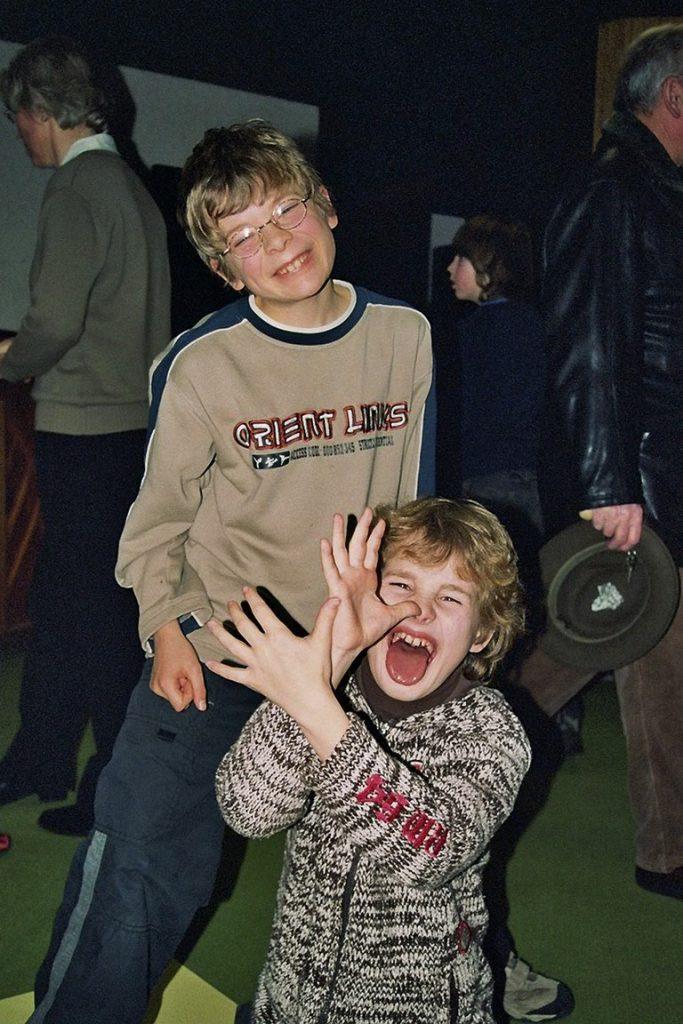 Daniel und Manuel aus der zweiten Generation des Franziskuskreises bei einem franziskanischen Wochenende