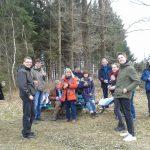 Wandergruppe Pause Franz Hitze Pfad