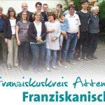 Franziskaner-Magazin Titel des Beitrags über den Franziskuskreis zum Thema Heute franziskanisch leben