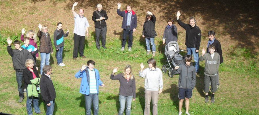Gruppenbild vom Franziskuskreis Attendorn 2011 in Elkeringhausen