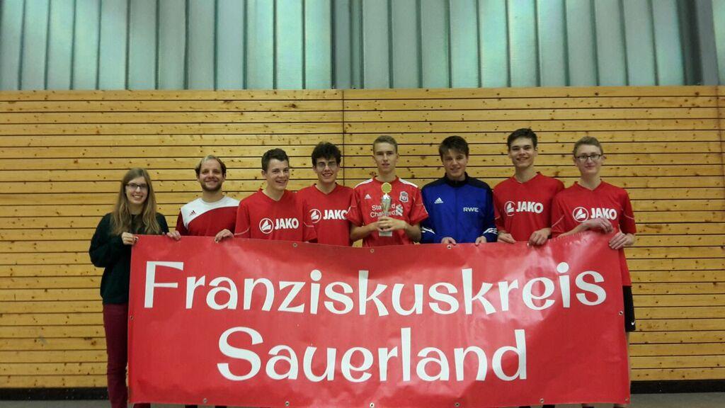 Franziskuskreis Sauerland FKS beim Vingster Herbst Cup 2015 in Köln Gruppenbild
