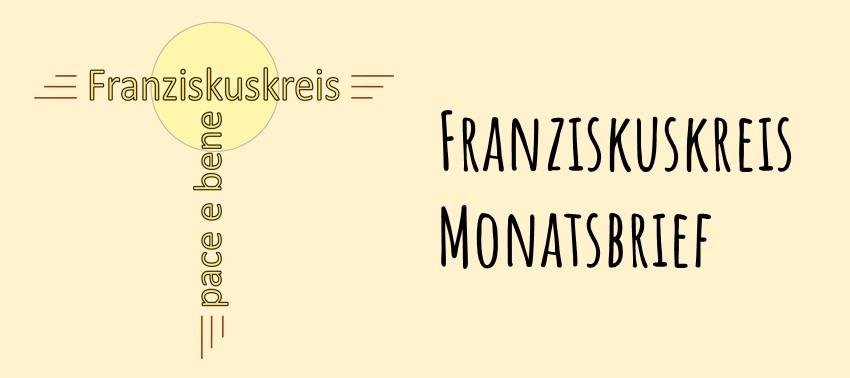 Franziskuskreis Monatsbrief