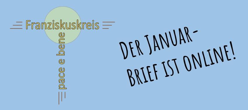 Der Januar-Brief des Franziskuskreis ist da!