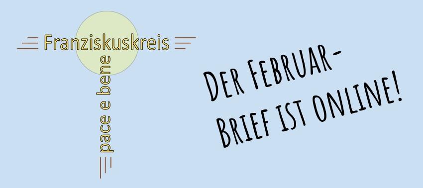 Der Februar-Monatsbrief ist online