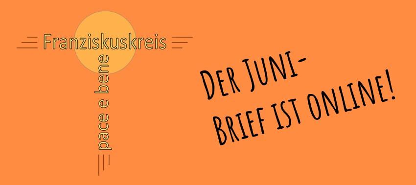 Der Juni-Monatsbrief ist online
